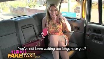 Female Fake taxi Multiple lesbian orgasms for busty welsh tattooed milf
