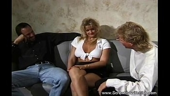 Threesome Sex Session With His Husband