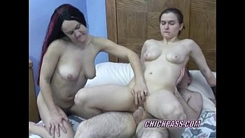 Swinging Sarah in a threesome with slutty Kathy