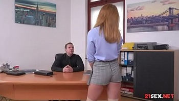 Gorgeous Schoolgirl Sucking Teachers Cock