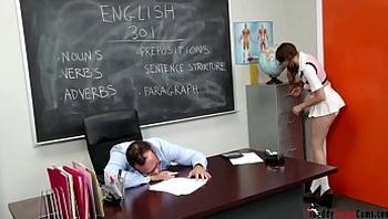 Teacher Long Cock In Sexy Schoolgirl www.daddyissuescams.com