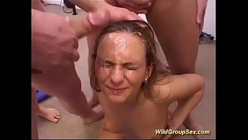 gangbang party with german chicks