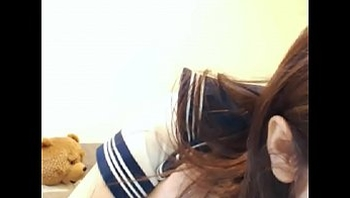 Japanese High School Sailor Cosplay Webcam - http://myxcamgirl.com