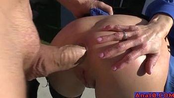 Mature anal licking, fisting, gaping and fucking