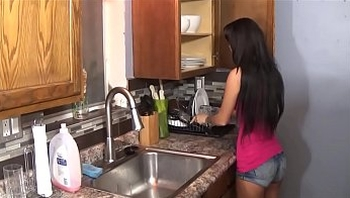 Persian Teen Sister Blackmailed by Big Brother - Esmi Lee - Family Therapy