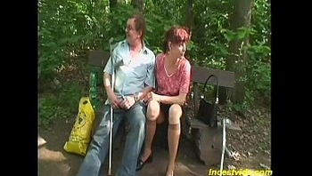 redhead granny pumped in her sweet tight pussy