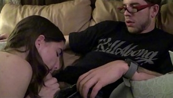 Big Boobed Teen Fucks Dad & Boyfriend at The Same Time - Molly Jane - Family Therapy - Preview