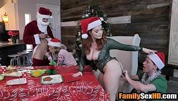 Christmas taboo family orgy