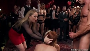 Aiden Starr makes hotties anal bdsm fuck