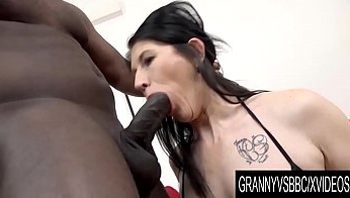 Granny Vs BBC - Mature Slut Niky Has Her Ass Pumped Full of Black Seed