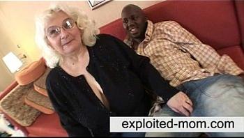 Granny loves black cock