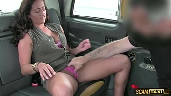 Damn hot MILF gets beat by a giant cock and creampied