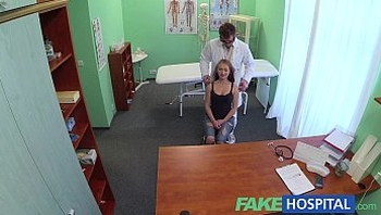 FakeHospital Doctors cock drains sexy students depression during consultation
