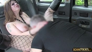 Neighborhood hot lady cares at all hot deepthroat to the driver