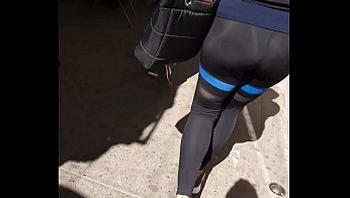 Calzas leggins Spandex rico culo