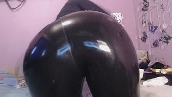 latex leggins