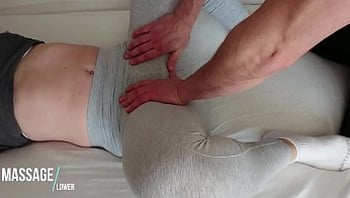 Yoga Pants - touch her Teen pussy