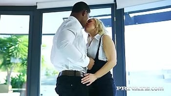 Private.com - First Interracial Experience for MILF Amber Deen