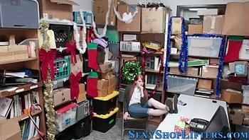 Teen shoplifter spermed