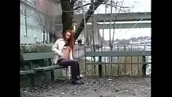 Hot Redhead Sucks and Fucks BBC in Public--www.facialpop.tk