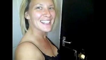 British Slut Films Herself Fucking Strangers At Gloryhole