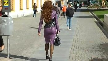 Mom Shopping Heels Stockings Dildo. See pt2 at goddessheelsonline.co.uk