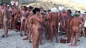 Art Nudism - Koktebel Neptune 2010 - Part. 10