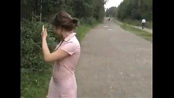 Katya Malina nude in public