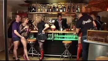 German Swinger Club - Couples Orgy