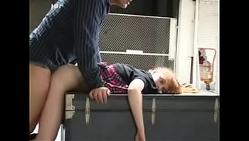 Hanging A  R School Girl