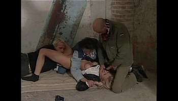 blonde kidnapped by 3 guys and forced to sex (italian)