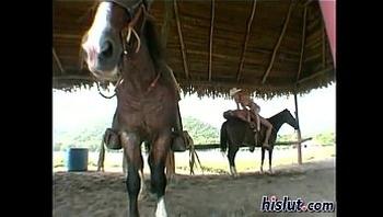 Fucking on Horse