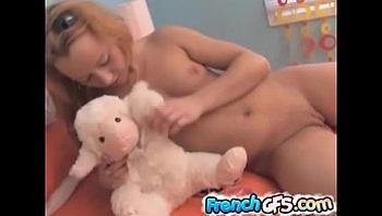 Home alone with my teddy bear