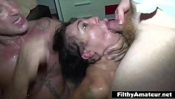 Coke in the ass and head in the toilet! Furious orgy!