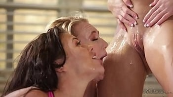 Megan and AJ visits the squirter yoga teacher again