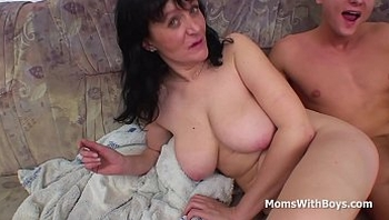 Busty Mother Fucking Son