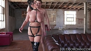 Jules Jordan - Angela White Gets Dp