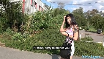 Public Agent Hot Asian chick Akasha Coliun loves girthy cock fuck public-agent