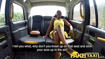 Fake Taxi Lovely ebony beauty Lola Marie empties cabbies balls faketaxi