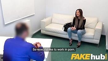 Fake Agent Sexy tattooed Ukrainian babe loves deepthroat and fucking fakeagent