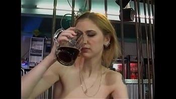 DRUNKEN GERMAN GIRL FUCKED ON THE DANCE FLOOR
