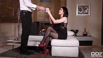Get ready for some epic foot fetish Hardcore fucking with sweetie Lady Dee