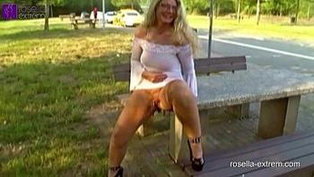 Nude in Public!
