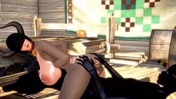 DARK MONSTER AND COW GIRL STRUGGLE TO MATE 3D HENTAI 55