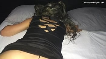 after the party I fuck the drunk girl