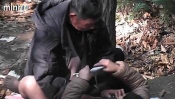 Asian old man fuck whore in wood  3   goo.gl/TzdUzu