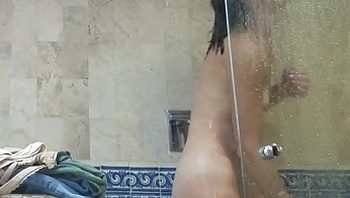 REAL: Spying on Showering Friend