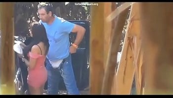 Voyeur records a prostitute fucking on the street