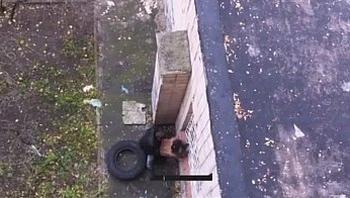 russian voyeur outdoor