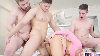 A Lazy Afternoon made More Exciting by a bit of BIThreesome Action - Naomi Bennet, Steavn, Nico A, Tomas Fuck
